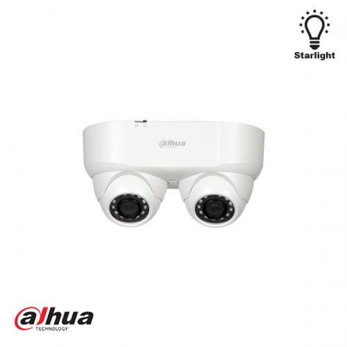 2MP Starlight HDCVI IR Dual-lens Camera 2.8mm