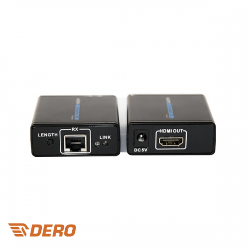HDMI converter over 1 UTP set sender + receiver max 30m