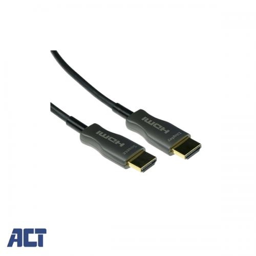 ACT 10 meter HDMI Hybride HDMI-A male - HDMI-A male