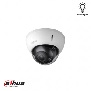 Dahua 2 Megapixel Starlight  IR vandal-proof dome 2.7-13.5mm motorized lens