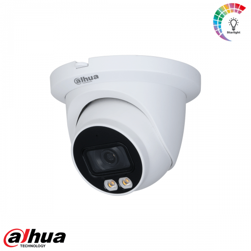 Dahua 4MP Lite AI Full-color Warm wit licht LED Eyeball Network Camera 3.6mm