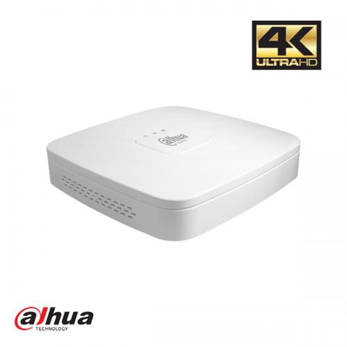 Dahua 4 kanaals NVR met PoE incl. 1TB