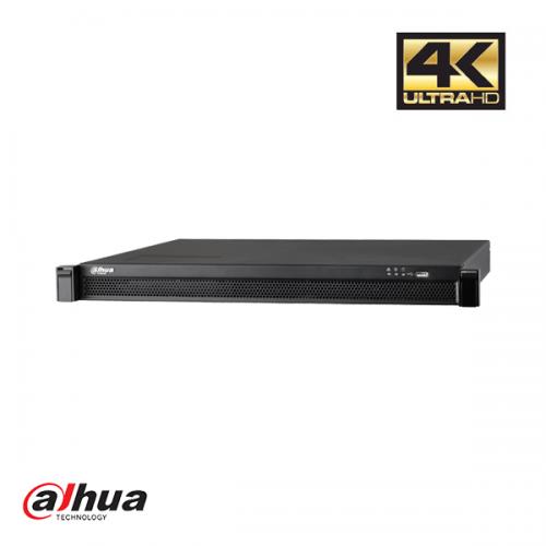 Dahua 24 kanaals 1U 24 x PoE 4K&H.265 Pro NVR incl 2 TB HDD