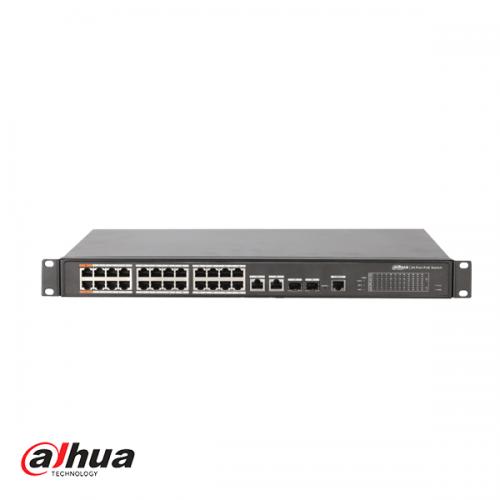 Dahua 24-port Managed Layer 2 PoE Switch
