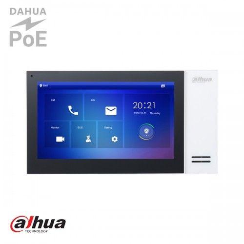 """Dahua 7"""" TFT 1024x600 IP Intercom Monitor Wit"""