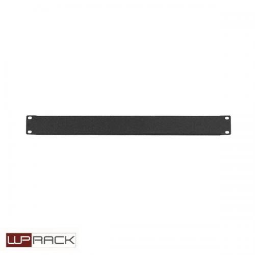 WP Blindpaneel 1HE zwart RAL9005