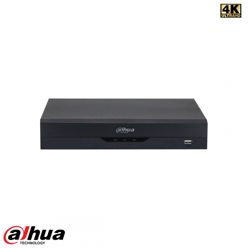 Dahua 8 Channel Penta-brid 4K-N/5MP 1U WizSense NVR incl 2 TB HDD