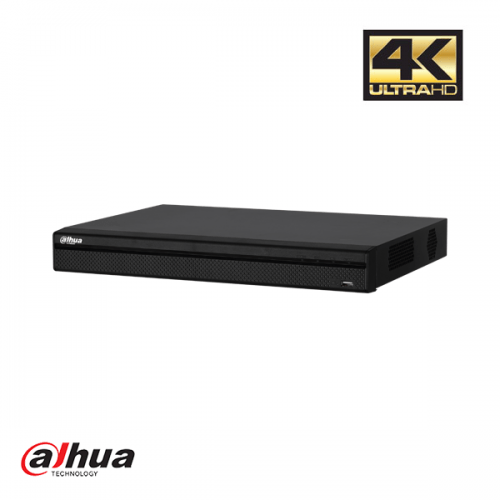 Dahua 8 Channel Penta-brid 4K Mini 1U Digital Video Recorder 8 PoC incl 2 TB HDD