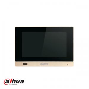"Dahua 7"" intercom IP binnenpost touchscreen METAL"