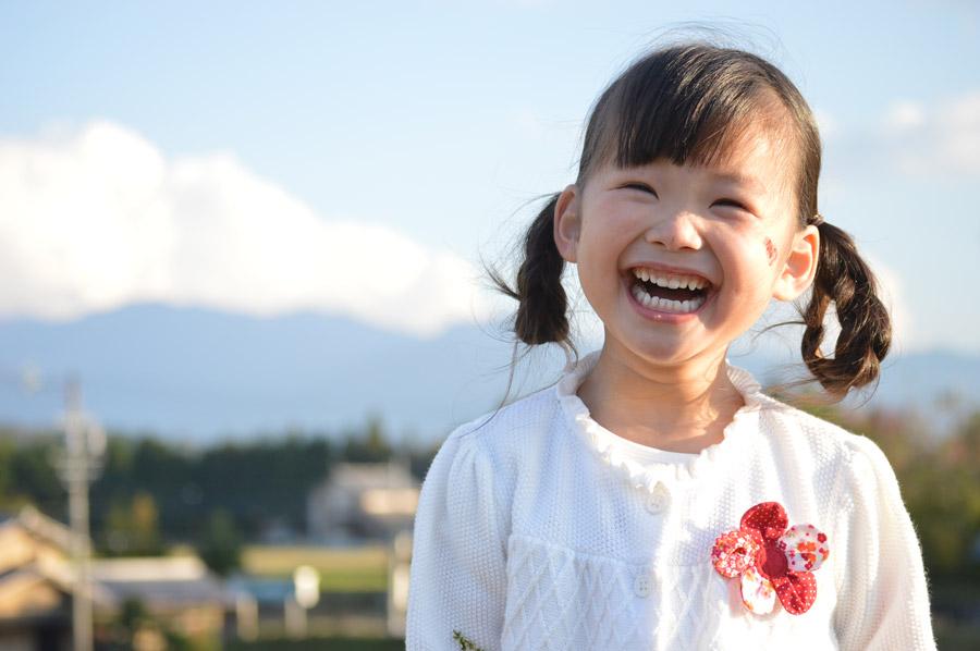 娘 女の子 笑顔
