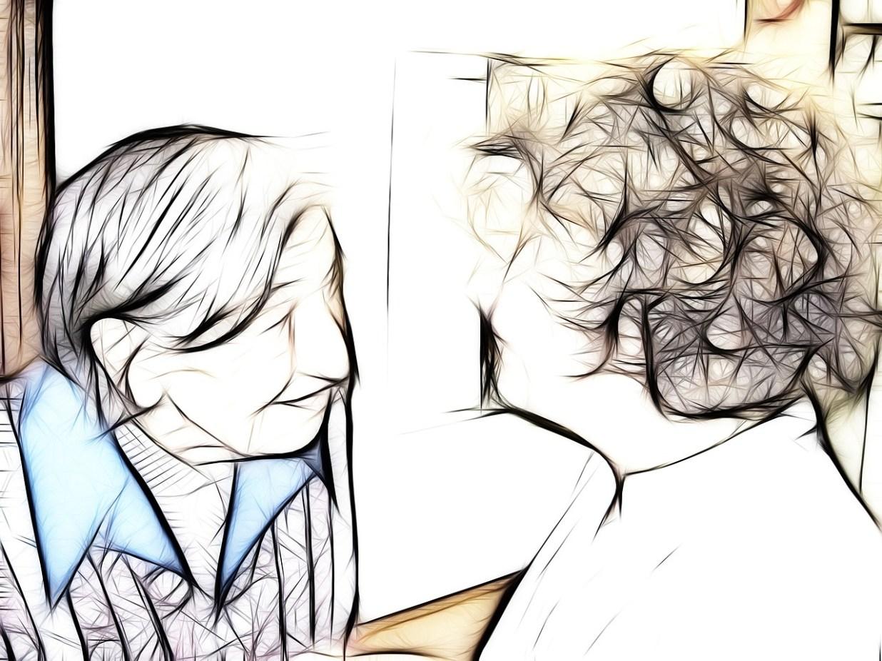 アルツハイマー型認知症 祖母