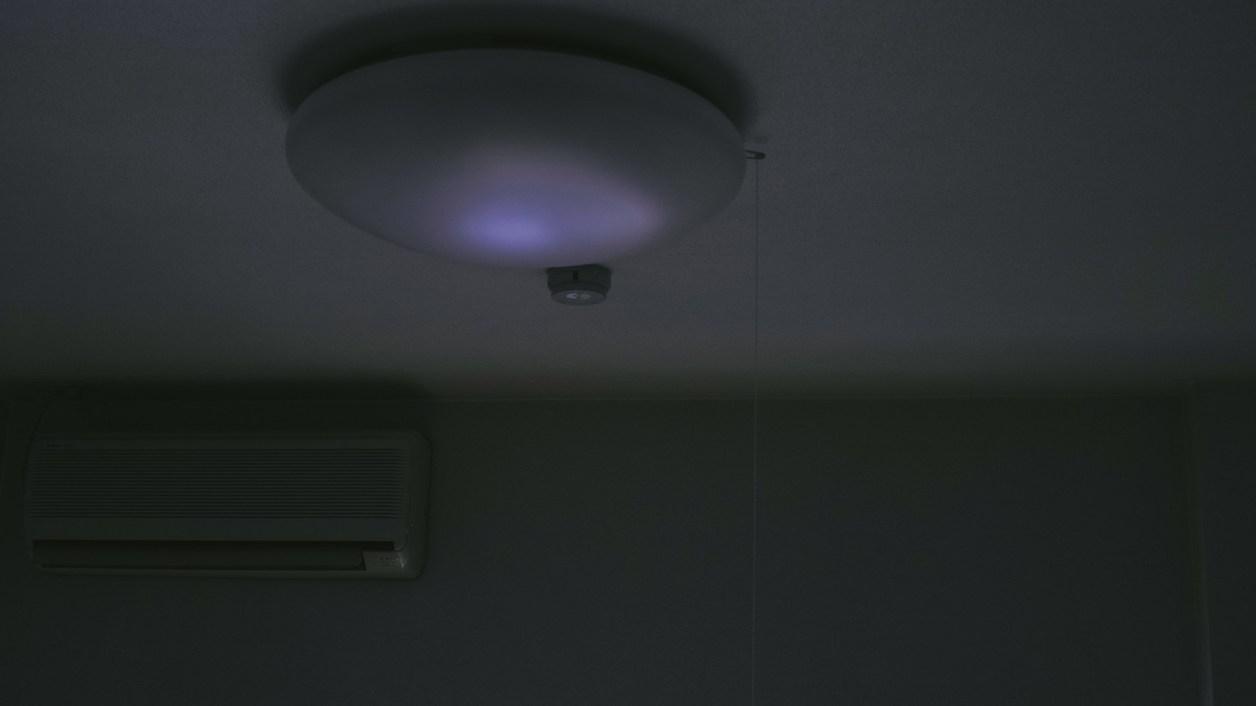 部屋 消灯