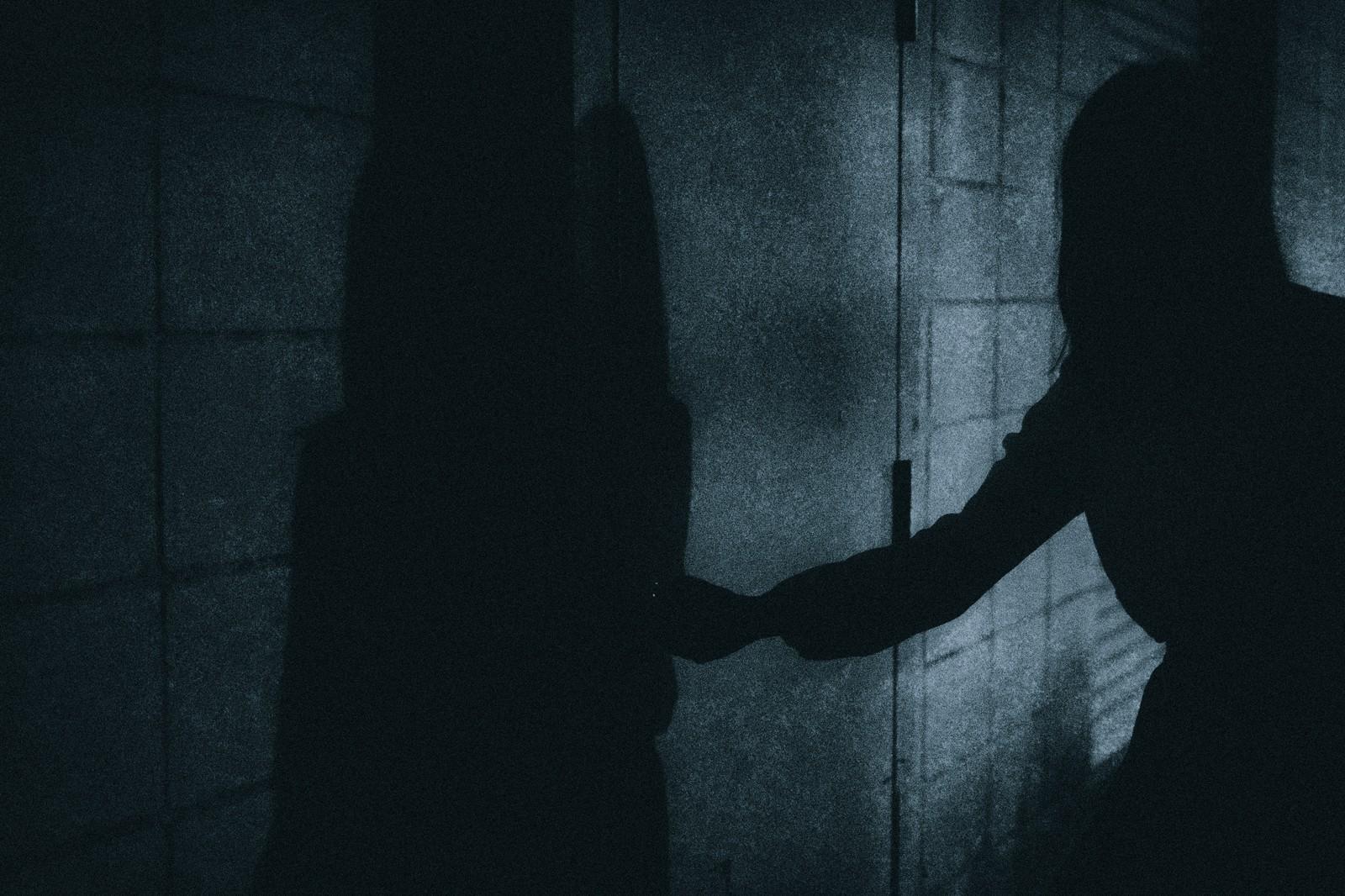 影 ドア 恐怖 ホラー