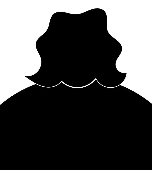 プロファイル 女性 脂肪のプロファイル イメージ 若いです 女の子 肖像