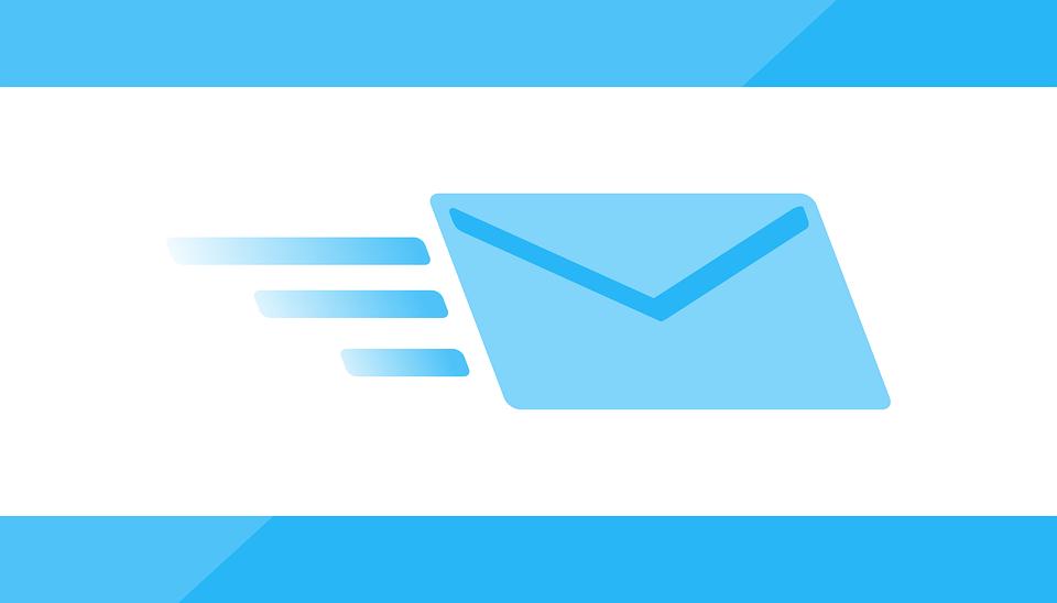 電子メール 高速 サービス インターネット 配信 アイコンを シンボル 通信 封筒 送信