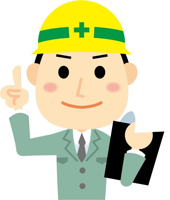 建設現場 業者 男性 ヘルメット 建築家