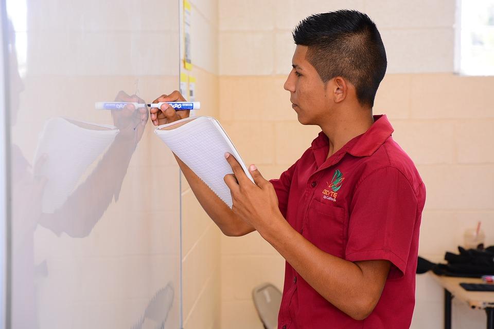メキシコ人 男性 学校