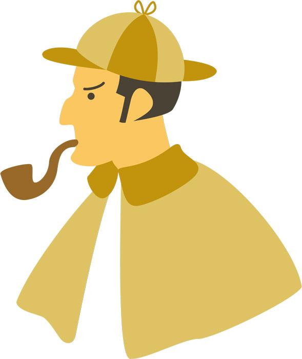パイプを咥えた私立探偵