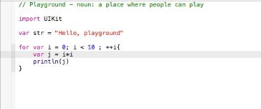 Playground Code Editor