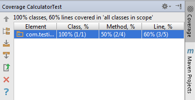Code coverage 2.