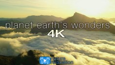 PLANET EARTHS WONDERS in 4K: Nature Relaxation™ Journey Part V – Epic Drone Footage + Healing Music