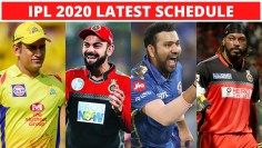 IPL 2020 : IPL Latest Schedule Announced By BCCI : Chennai Super Kings, Mumbai Indian, RCB, Ms Dhoni