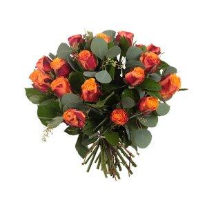 Oranje rozen boeket | Boeket maxima | Uwbloemenman.nl