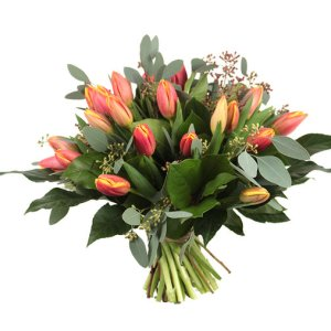 Oranje tulpen | Voorjaar in huis | Uwbloemenman.nl