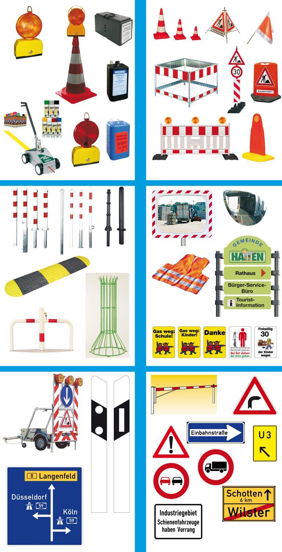 Abbildungen der links benannten Produkte