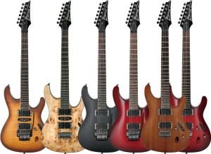 Ibanez gitaar modellen