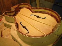 constructie archtop gitaar