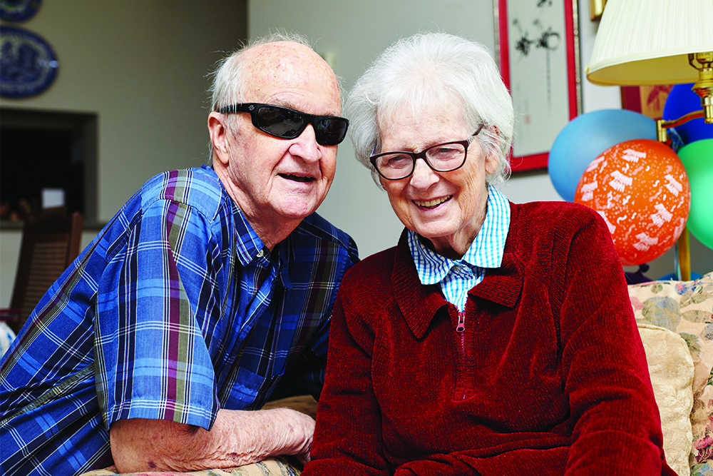 A photo of Don and Barbara