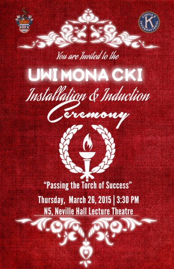 University of the West Indies Mona Circle K International Club Induction and Installation Ceremony 2015 featured image