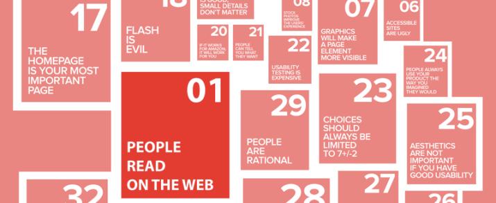 UX-REPUBLIC - Mythe #1 : Les utilisateurs lisent sur le web