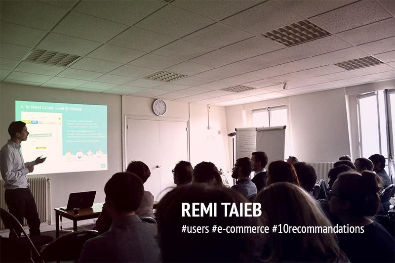 UXDAY 11 : Deuxième présentation par Rémi.