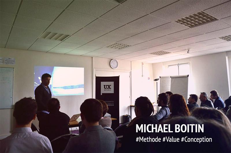 UXDAY 11 : Troisième présentation par Michael !