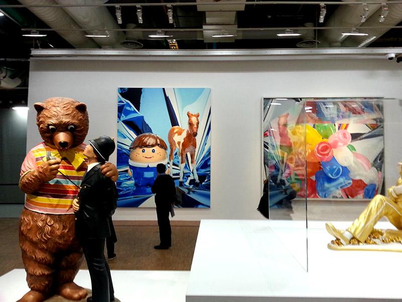 UXDAY 11 : Jeff Koons : un ours un policier une oeuvre ?