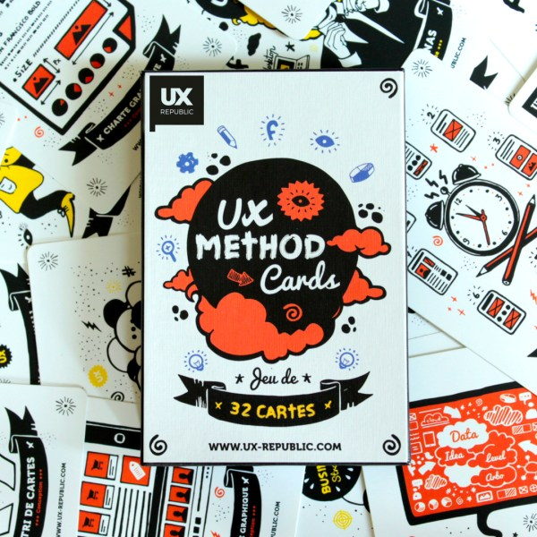 UX cards par UX Republic, boite de face