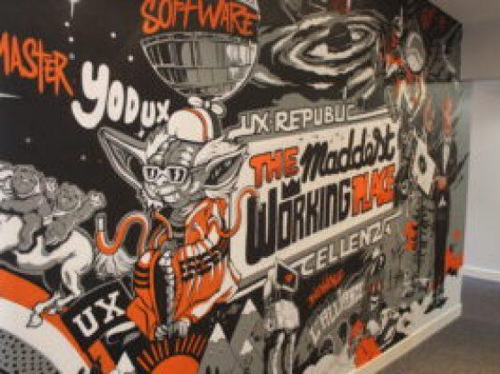 Fresque Mur UX-Republic