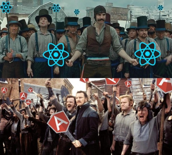 JS-REPUBLIC Angular 2 contre ReactJS