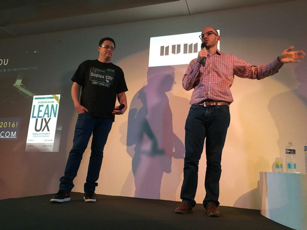 Jeff Gothelf et Tomer Sharon - UX_Republic