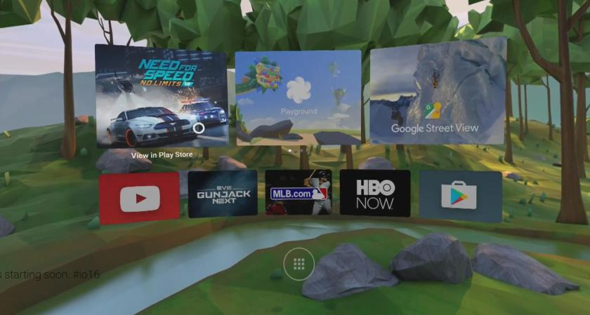 Réalité virtuelle - Google Daydream