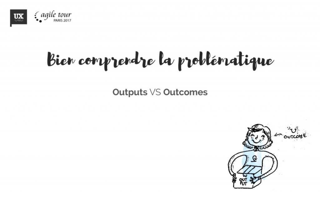 outputs vs outcomes