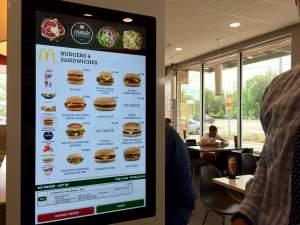 Display taglia-coda di McDonald's