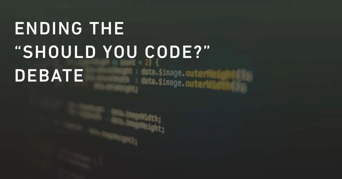 Should Ux Designers Learn How To Code A Definitive Answer