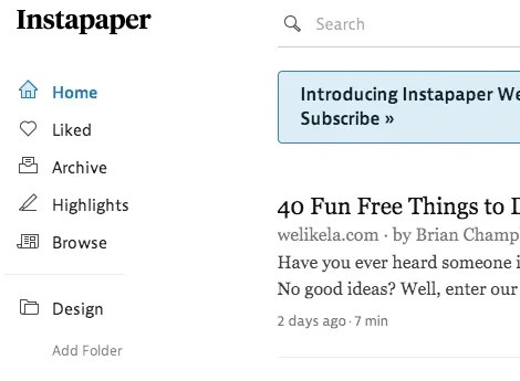 UX-Beginner-Instapaper-Screenshot