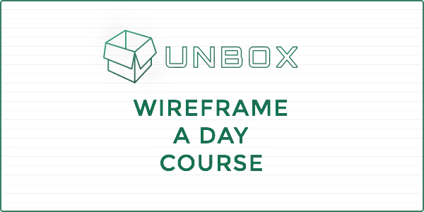 UXB-UNBOX-Wireframe-A-Day-Logo