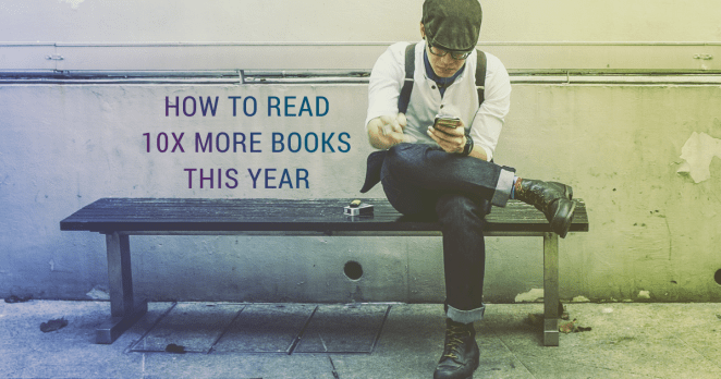 how to read 10x more this year