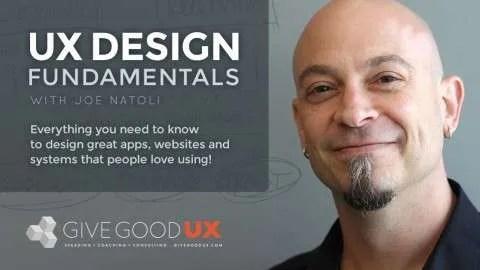 User Experience Design Fundamentals Course (Udemy)