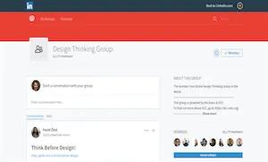 best-ux-design-communities-groups-Design Thinking Group